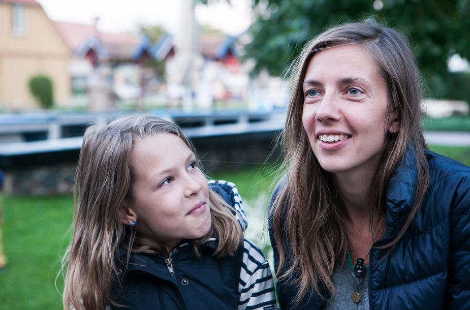 Dagnė Vildžiūnaitė su dukra