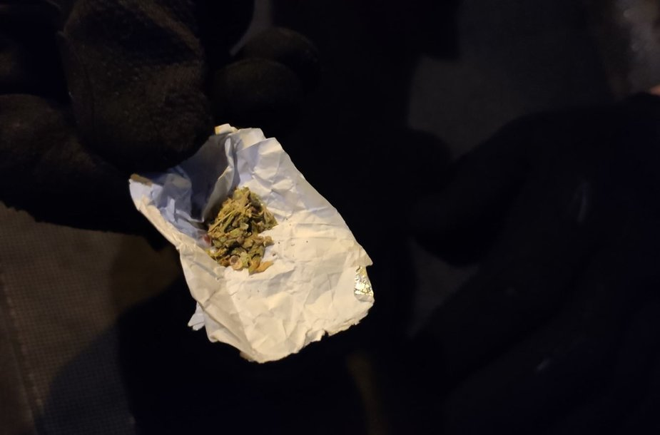 Rastos galimai narkotinės medžiagos