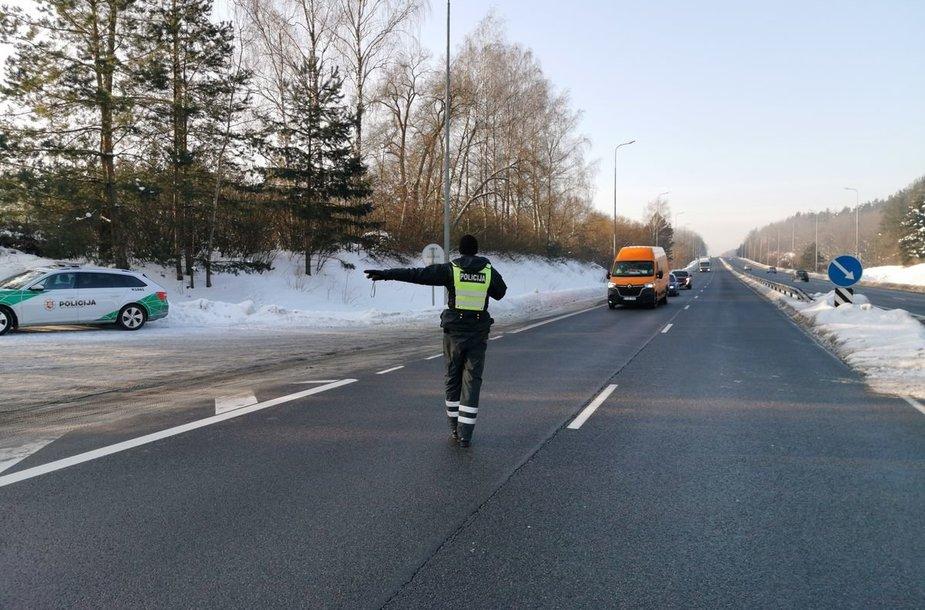 Kauno apskrities policijos reidas