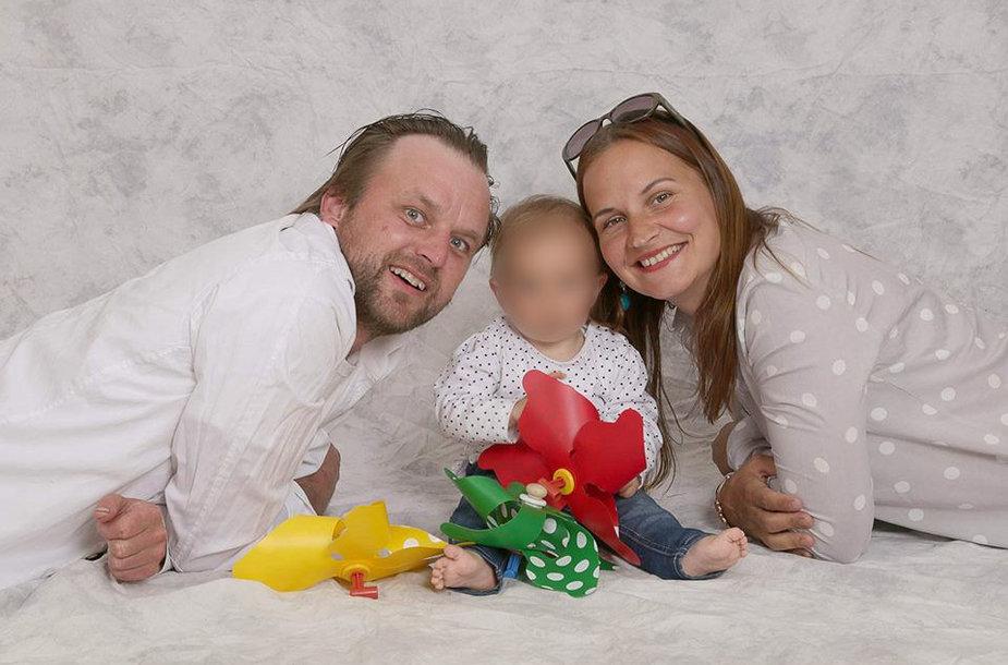 Alvijos ir Arūno Žemaitaičių šeima