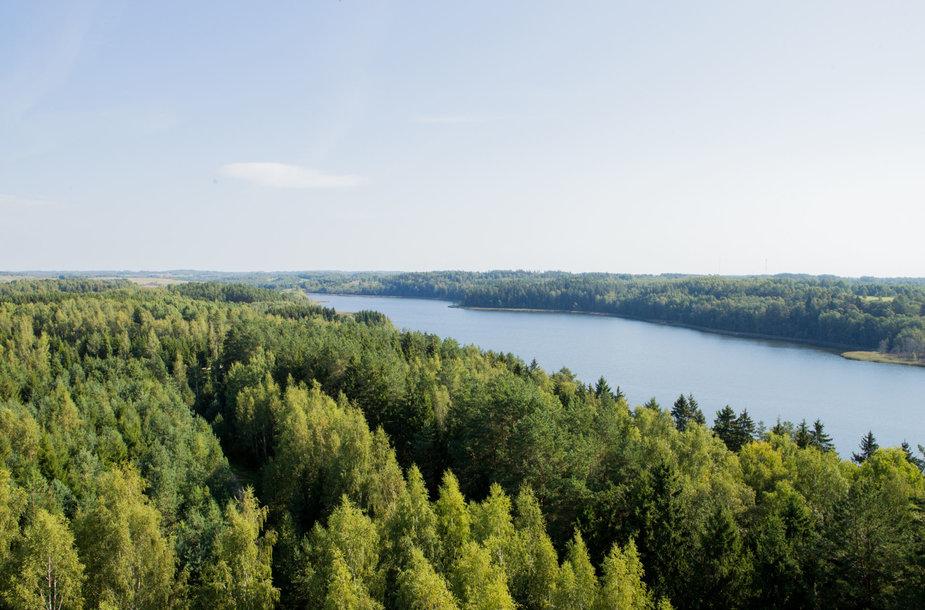 Pirmasis Lietuvoje apžvalgos bokštas