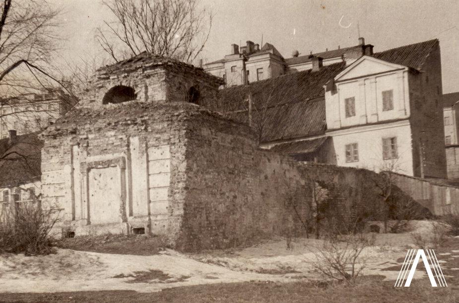 Šrėterių koplyčia po restauravimo 1955 m.