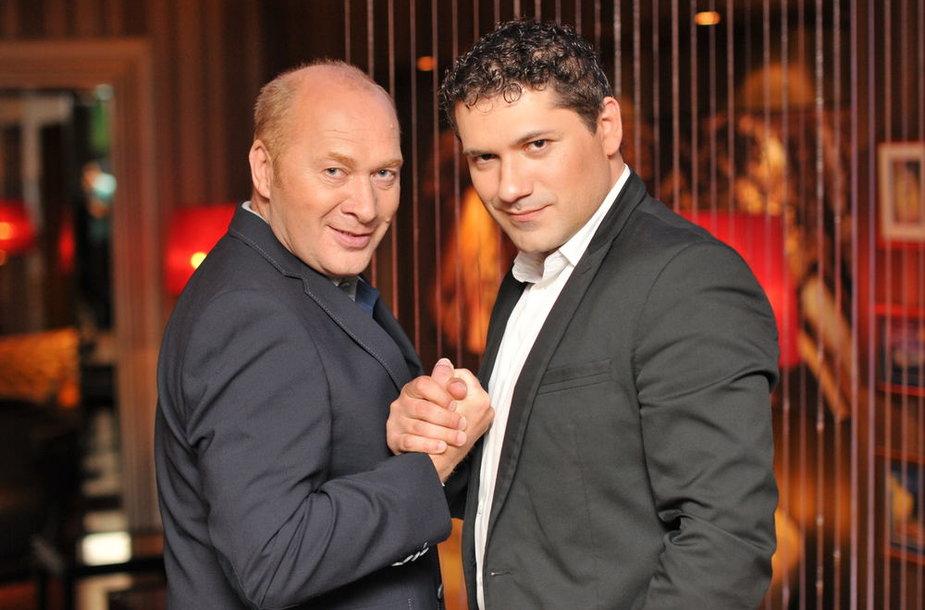 Jurijus Smoriginas ir Deividas Šamrajus