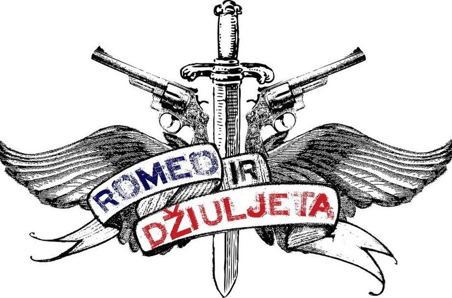 """Muzikinio šou """"Romeo ir Džiuljeta"""" logo"""