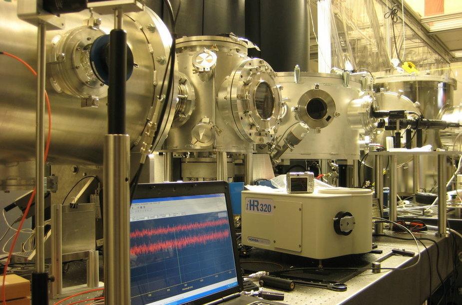 Teksaso universiteto Ostine fizikų kūrinys - galingas stalinis dalelių greitintuvas