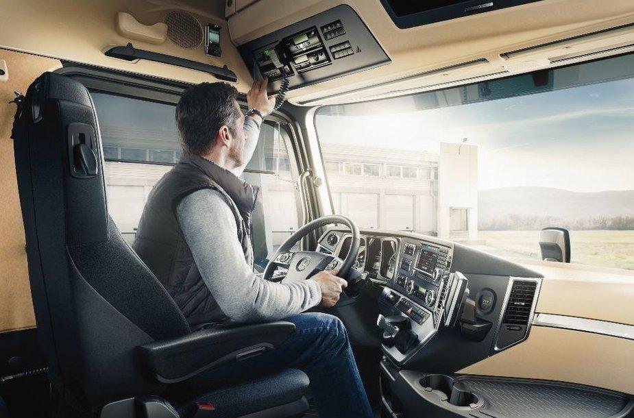 Sunkvežimio vairuotojas