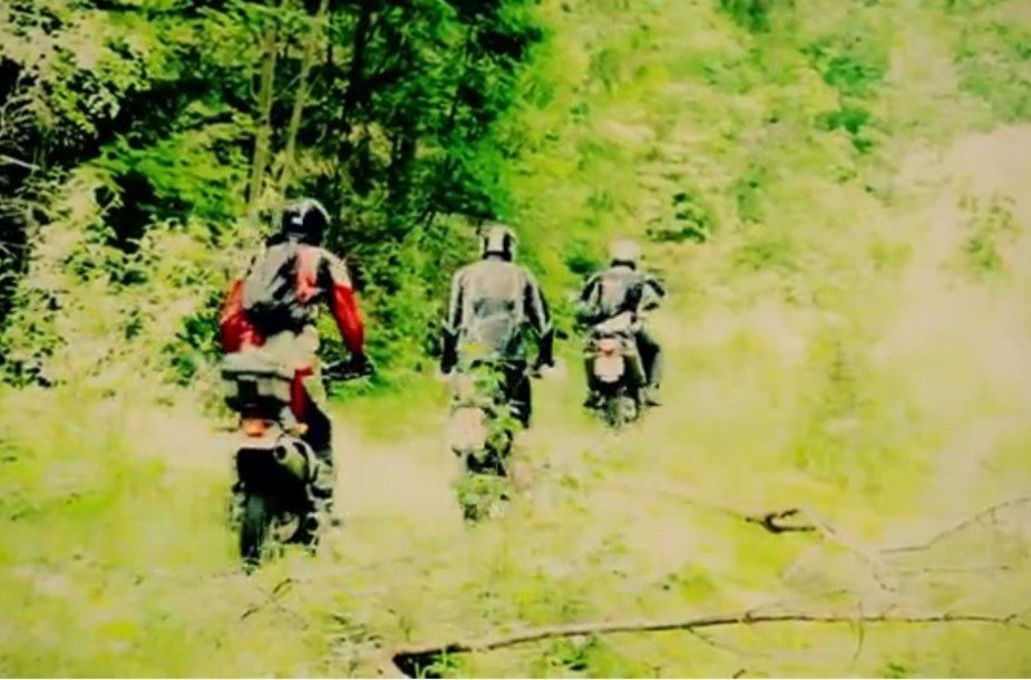 2013 m. motociklininkų žygis aplink Lietuvą: pirmoji diena