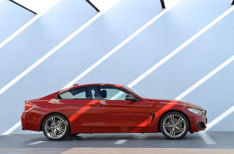 4 serijos BMW kupė