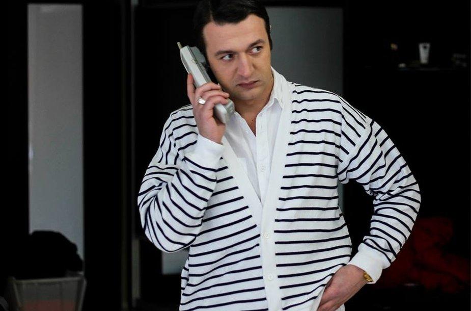 """Kadras iš laidos """"Mafijos kronikos su Dailiumi Dargiu"""""""