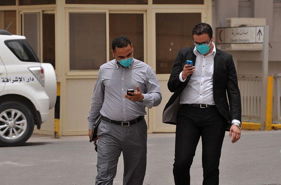 Saudo Arabijoje siaučia MERS virusas