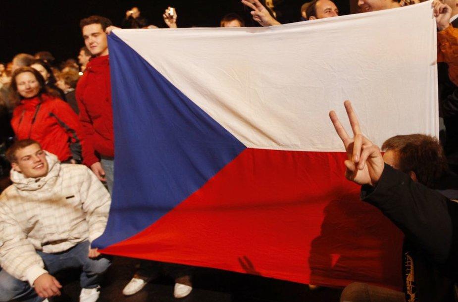 Čekoslovakijos vėliava