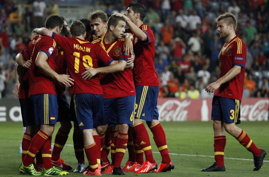 Ispanijos jaunimo futbolo rinktinė