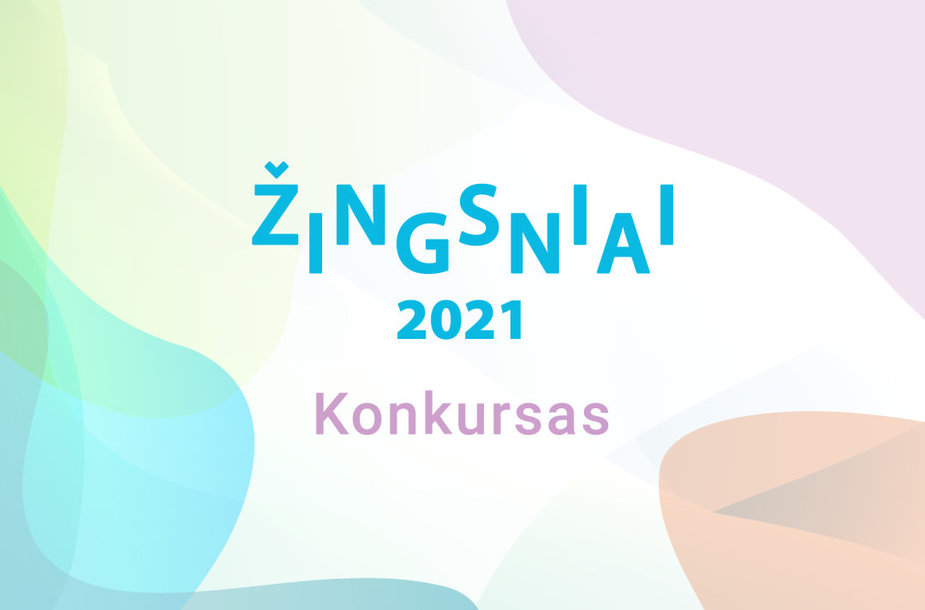 """Konkursas """"Žingsniai 2021"""""""