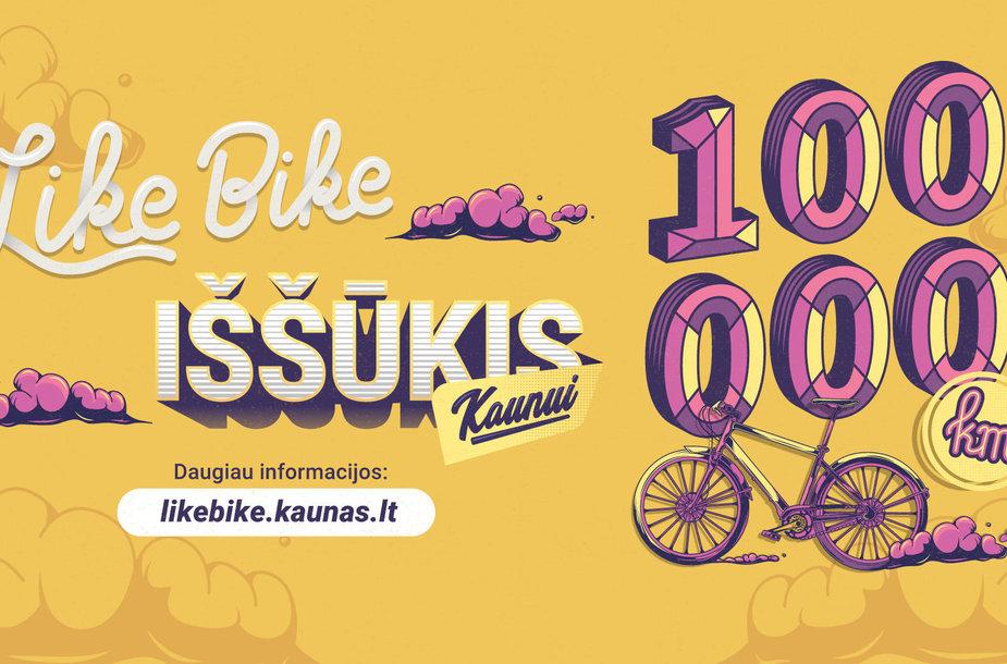 Like bike iššūkis
