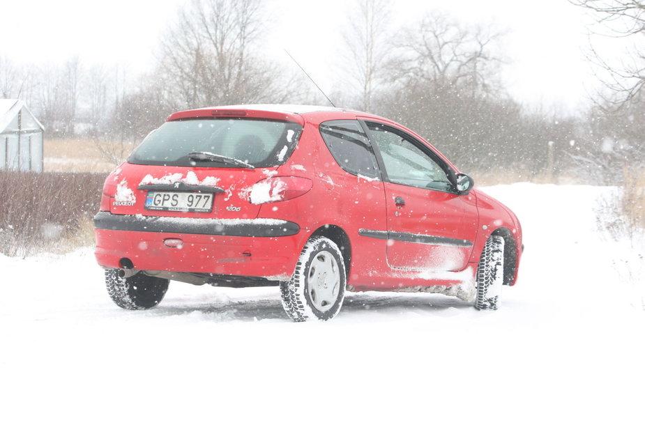 """Loterijoje laimėtas """"Peugeot 206"""""""
