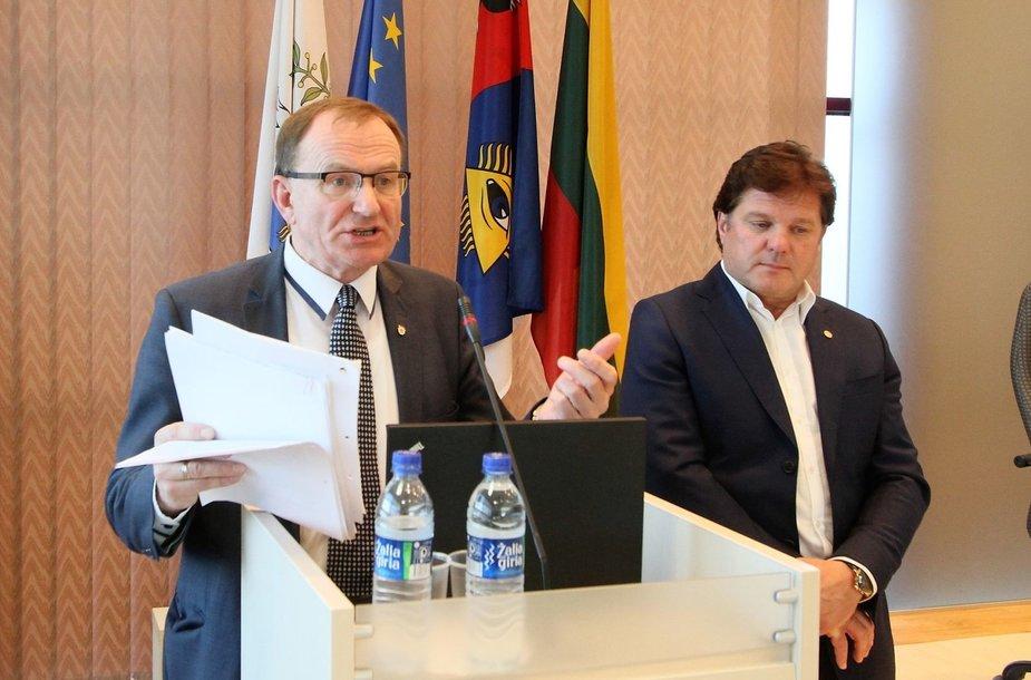Šiaulių arena ir savivaldybė kibo į atlapus