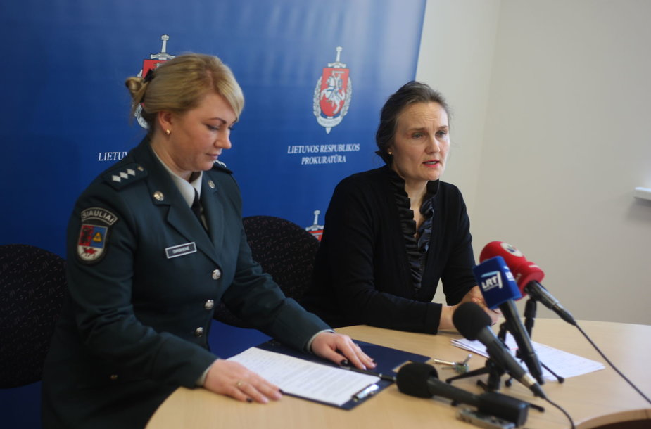 Prokurorė Violeta Bartušienė ir tyrėja Daiva Girskienė
