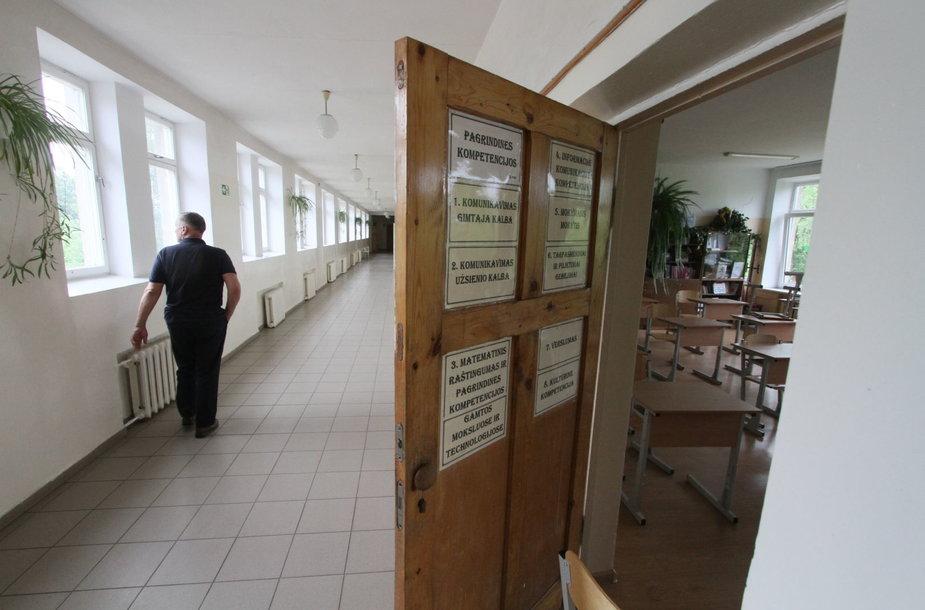Bazilionų mokykla virto ištisa biblioteka