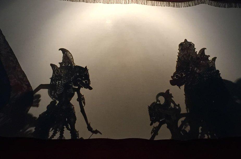 Tradicinis indoneziečių lėlių šešėlių teatras