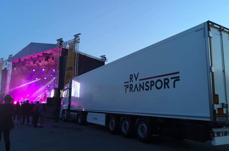 RV Transport vilkikas