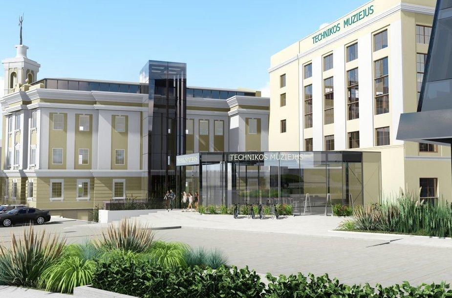 """Prie Energetikos ir technikos muziejaus iškils """"DoubleTree by Hilton"""" viešbutis"""