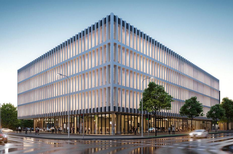 """""""Vilbra"""" Vilniaus Švitrigailos gatvėje statys biurų pastatą"""