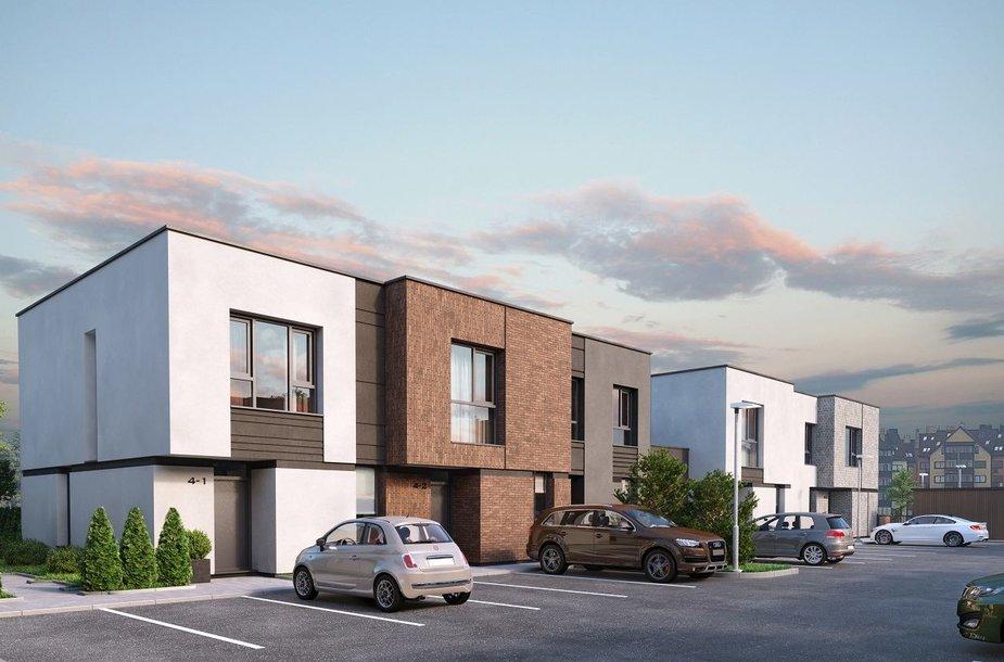 Pilaitėje kils sublokuotų namų kvartalas, investuos 1,5 mln. eurų