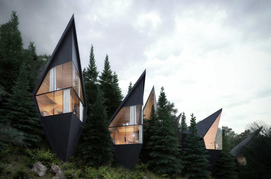 """Peter Pichler Architecture"" projektas Italijoje"