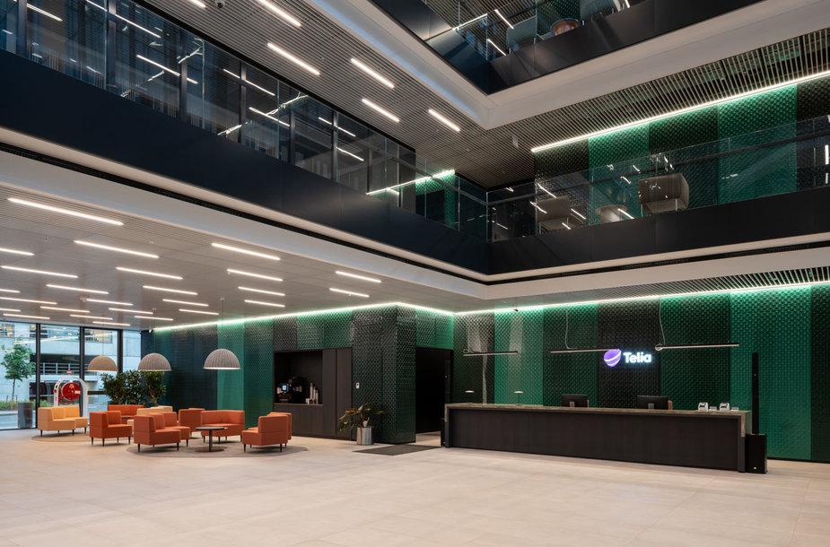 """Naujasis """"Telia"""" biuras Vilniuje, Saltoniškių gatvėje"""