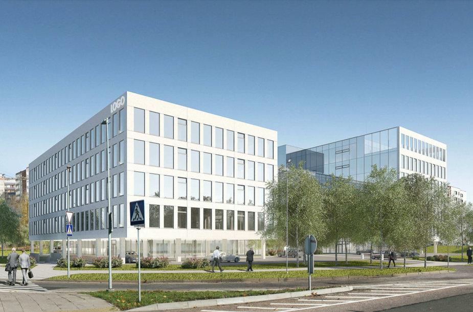 """""""M.M.M. projektai"""" Laisvės prospekte planuoja dar vieną biurų pastatą"""