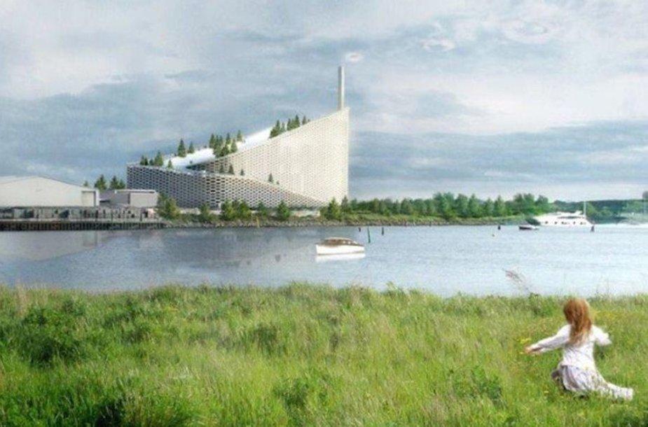 Planuojamas stogo parkas Kopenhagoje