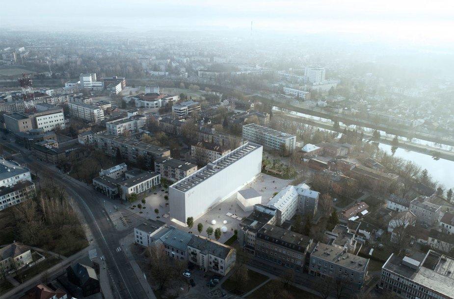 7 pasiūlymas S.Eidrigevičiaus menų centro konkursui