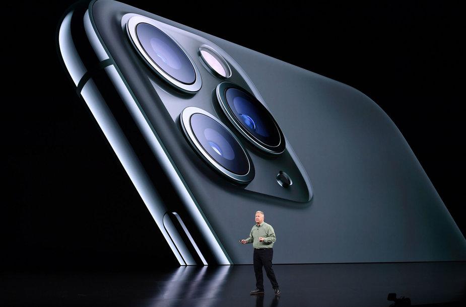 """""""Apple"""" naujųjų produktų pristatymas"""