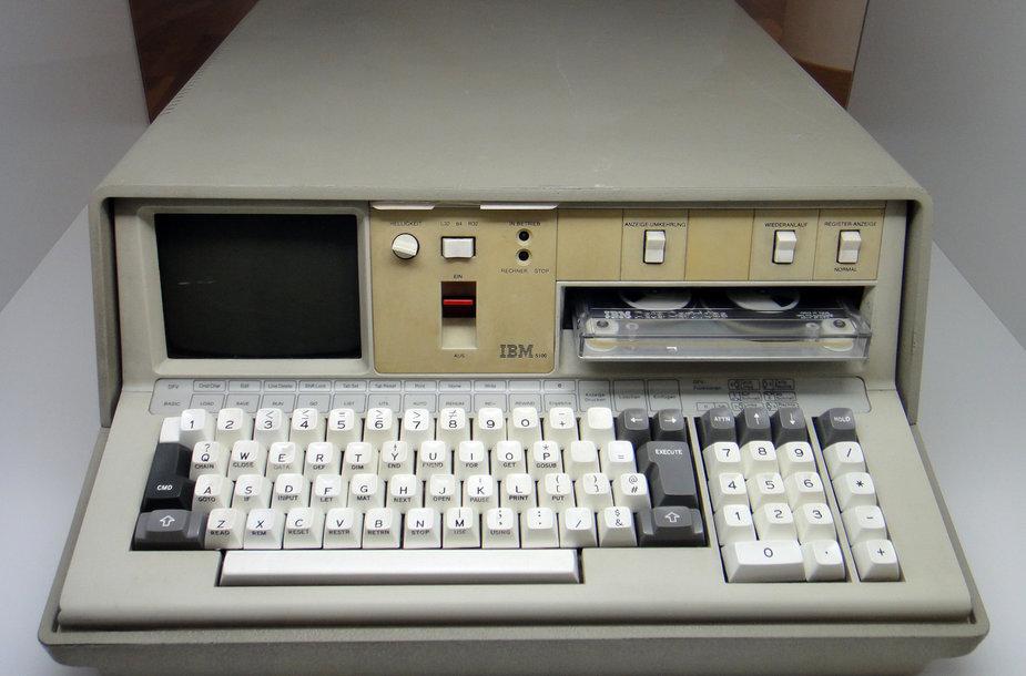 """""""IBM 5100"""" kompiuteris"""