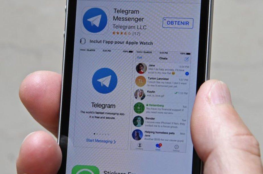 """Telegram"" programėlė"