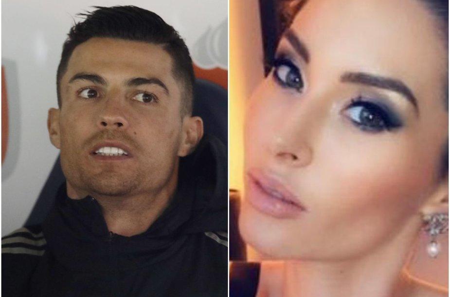 Cristiano Ronaldo kaltina dar viena moteris – Jasmine Lennard.