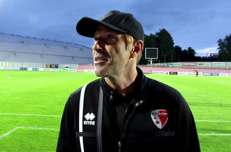 """Sion"" klubui vadovauja italas Paolo Tramezzani."