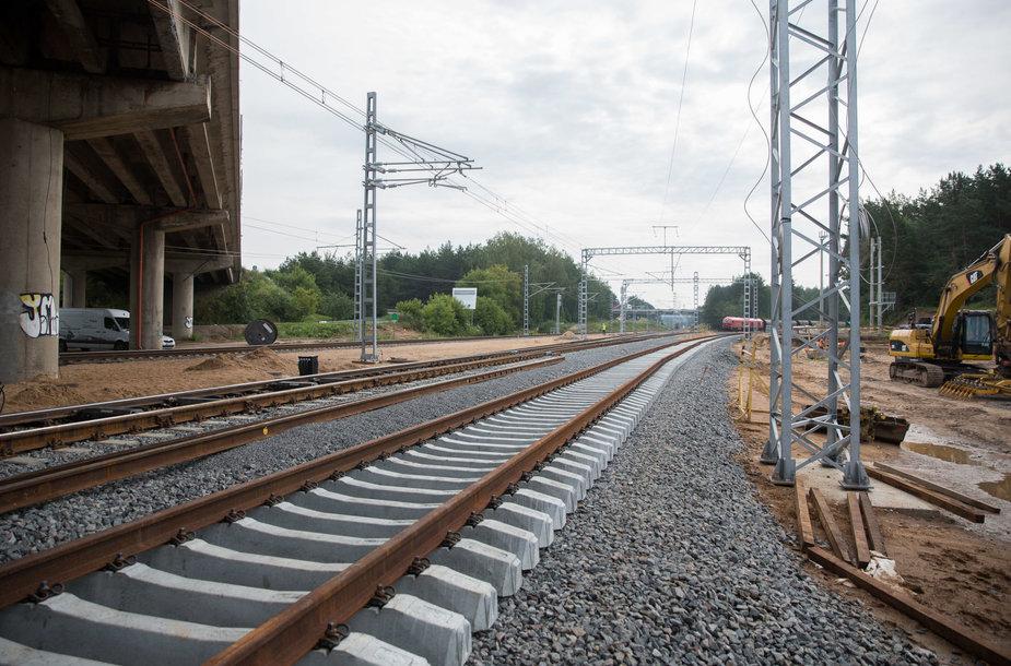 Geležinkelio tvarkymo darbai