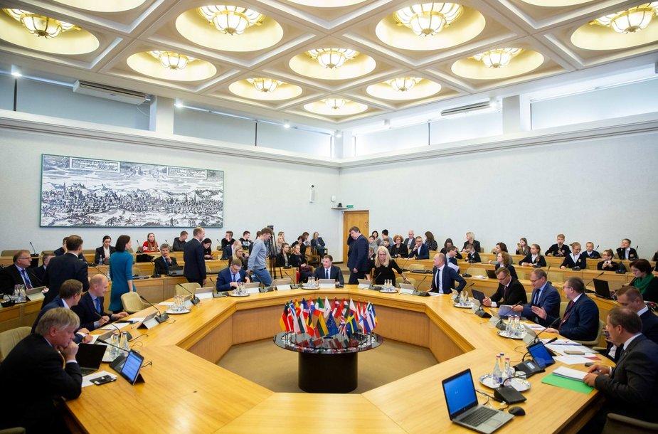 Vyriausybės posėdžių salė