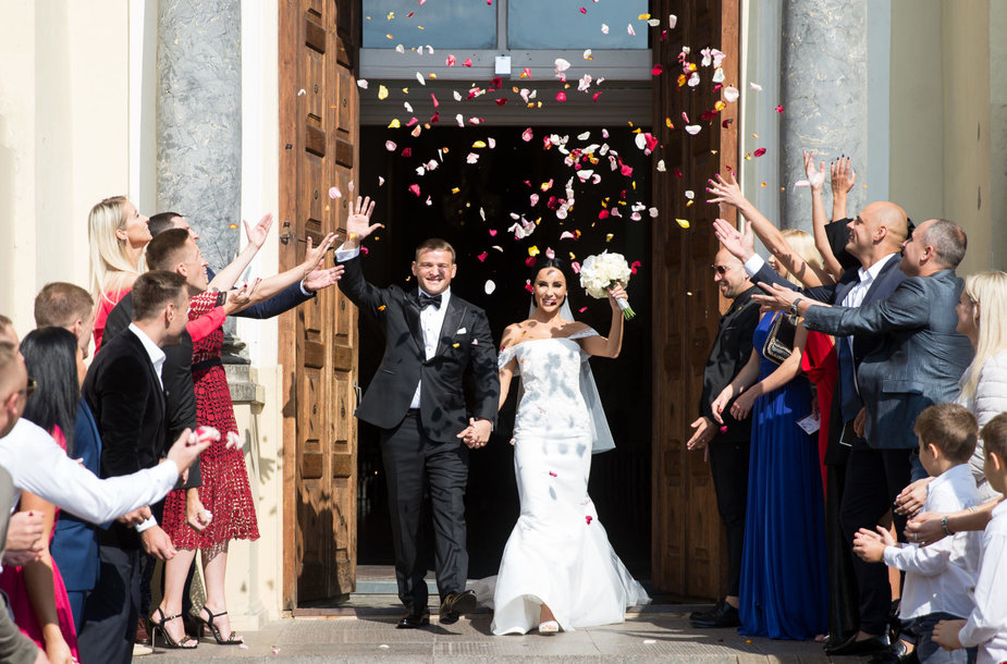 Aleksandro Kazakevičiaus ir Gretos Lebedevos vestuvės