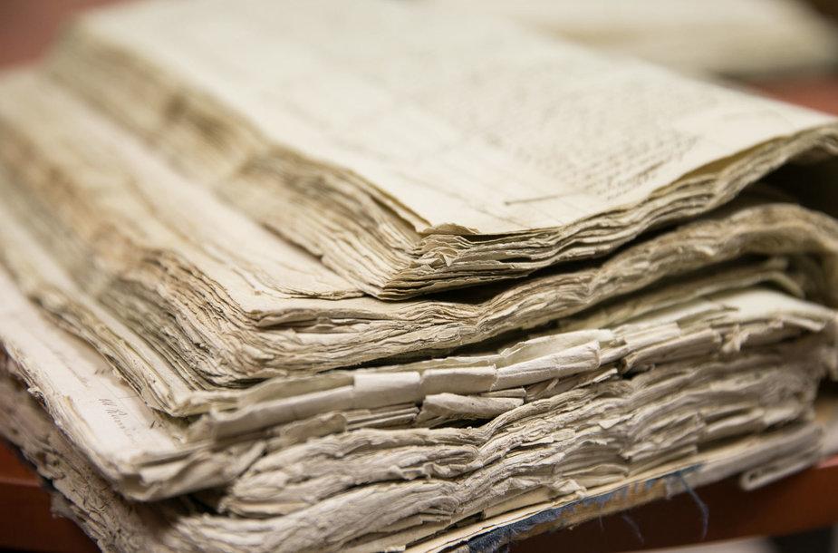 Apsilankymas Lietuvos valstybės istorijos archyve