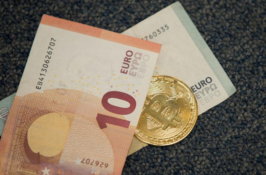 Bitkoinas ir eurai
