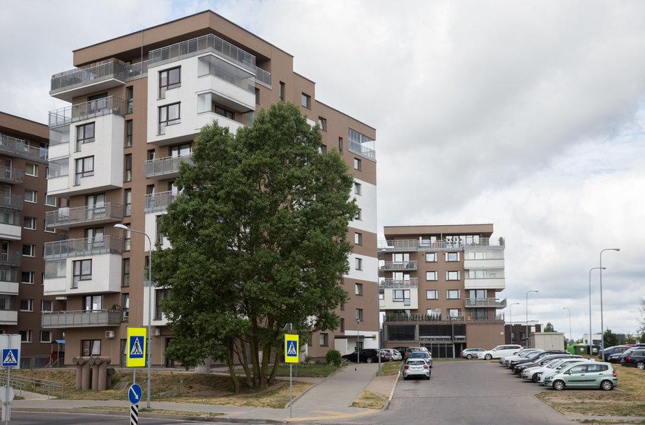 Namas Karaliaučiaus gatvėje Vilniuje