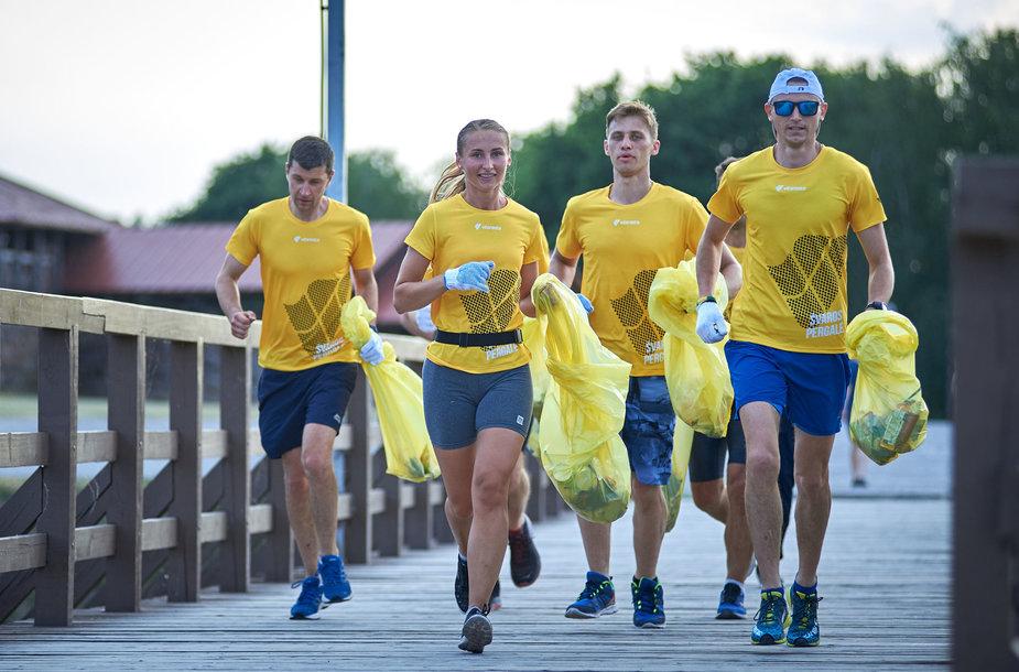 """Vilniuje pirmąkart vyks """"Eko bėgimas"""": bėgikai rinks kilometrus ir šiukšles"""