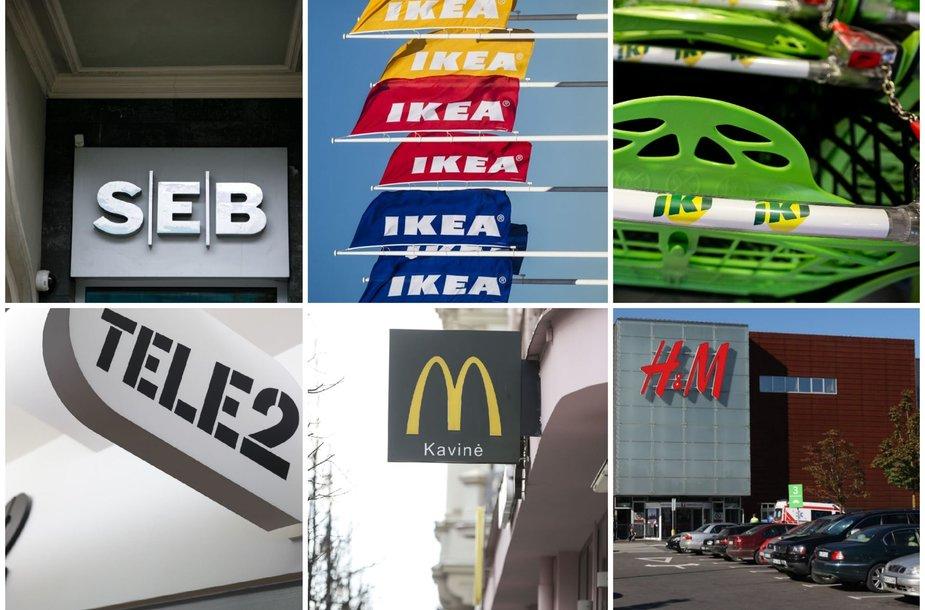 Verslai, kurie veikia Lietuvoje