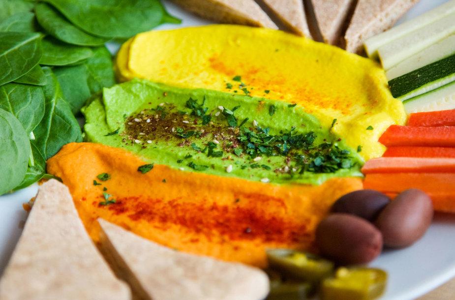 Maistas sudarytas pagal trispalve