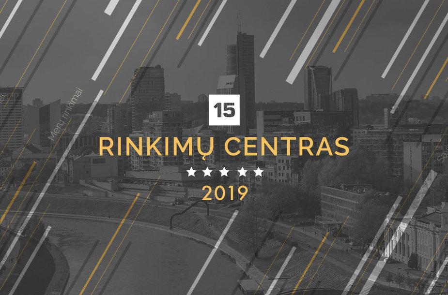15min rinkimų centras