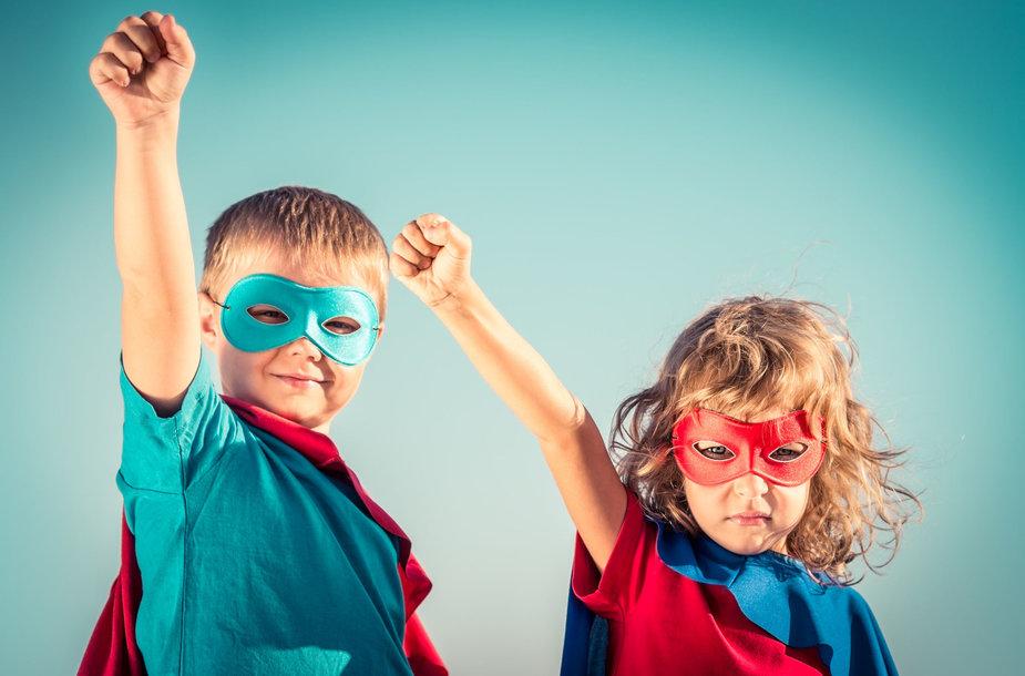 Vaikai superherojai