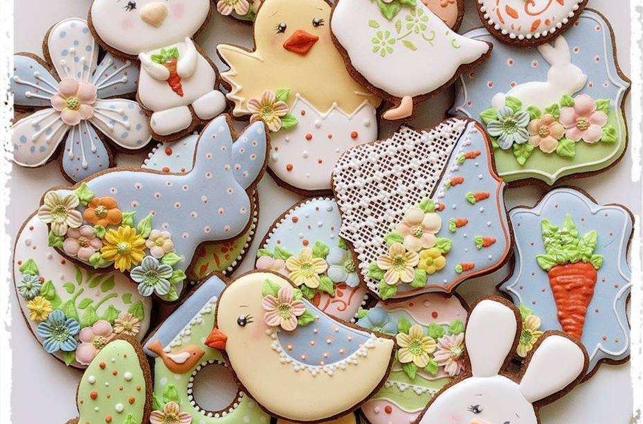 Dekoruoti sausainiai