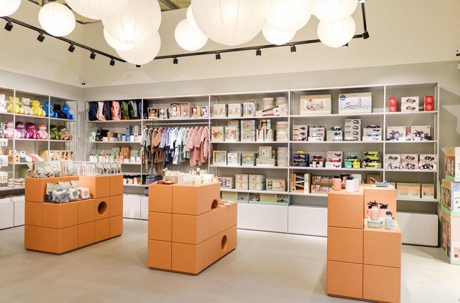 Vilniuje atidaryta didžiausia Lietuvoje nišinių vaikų prekės ženklų parduotuvė